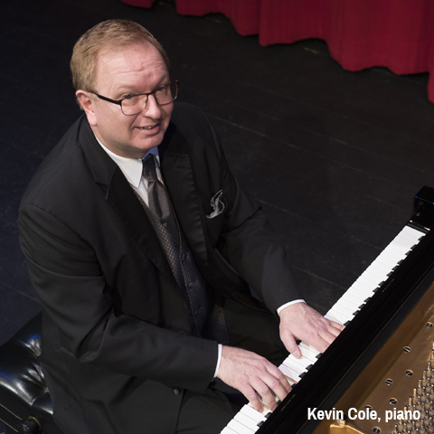 Kevin Cole, piano
