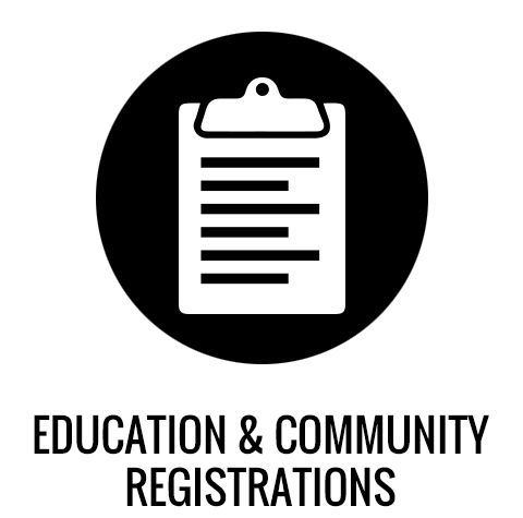 Education and Community Registrations