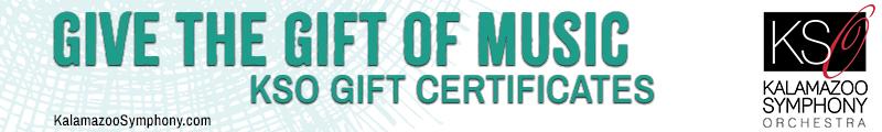 KSO GIft Certificates