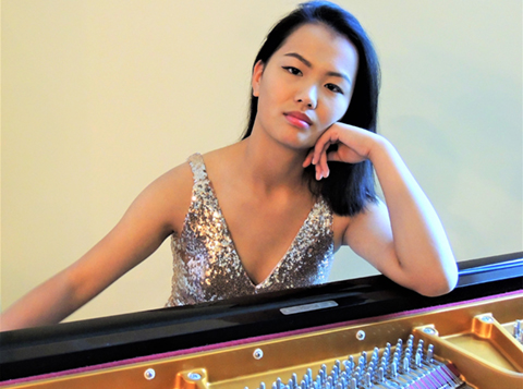 Jessaly Zhu, pianist, 2018 KSO Youth Soloist