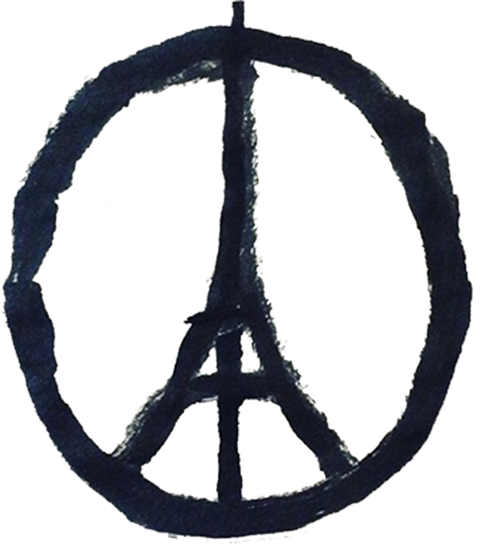 Paris Attack Peace Symbol